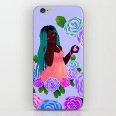 Turquoise Twists iPhone & iPod Skin