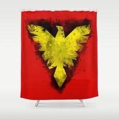Phoenix - X-Men Shower Curtain