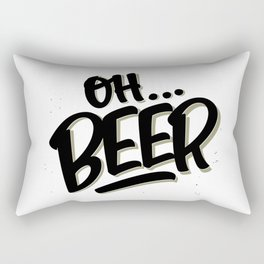 Oh... BEER Rectangular Pillow