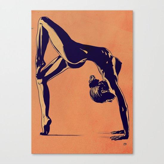 Contortionist  Canvas Print