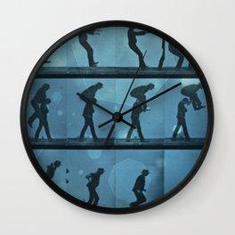 movement jump Wall Clock