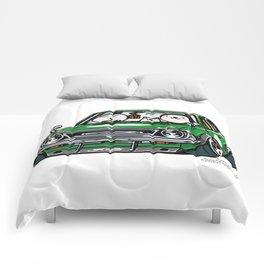 Crazy Car Art 0142 Comforters