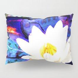 Electrifying Lotus Pillow Sham