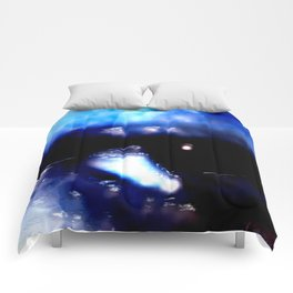 Blue Eyed Confusion Comforters