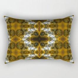 Fractal Art by Sven Fauth - bacterial cells Rectangular Pillow