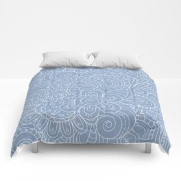 Background abstract flowers, doodleart, graphic-desing vector pattern. Comforters