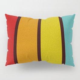 Retro Lines Pillow Sham