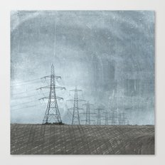 March of the Pylons Canvas Print