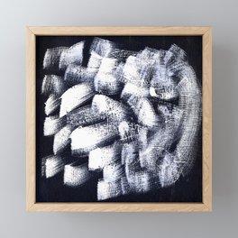 Black and white 2 Framed Mini Art Print