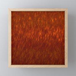 Digital Fire 3 Framed Mini Art Print