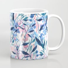 Wandering Wildflowers Blue Mug