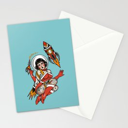 Out of this world (digital illustration) Stationery Cards