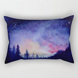 The Blue Hour Rectangular Pillow
