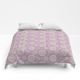Hexagonal Hypnosis Comforters