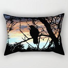 SUNSET BIRD Rectangular Pillow