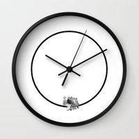 Circle of Friends Wall Clock