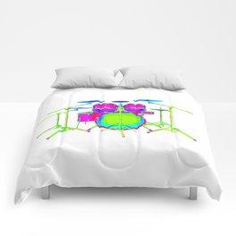 Colorful Drum Kit Comforters