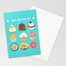You dessert it! Stationery Cards