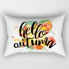 Hello Autumn Rectangular Pillow