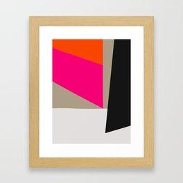 Mid Century Minimal 1 Framed Art Print