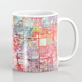 Miramar map Florida painting Coffee Mug