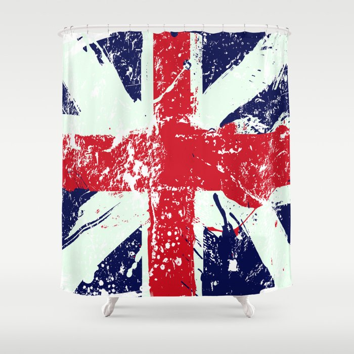 Best Union Jack Shower Curtain Designs for your Bathroom Decor cover image