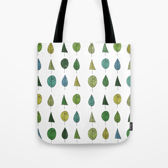 TREES MAKE A FOREST Tote Bag