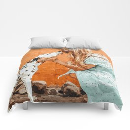 Pet Bound #pets #animals #animalslover #painting Comforters