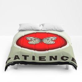 Fruit of the Spirit, Patience (Red & Ecru) Comforters