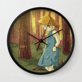 Escapades 001 Wall Clock