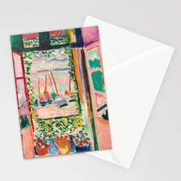 Open Window by Henri Matisse Stationery Cards