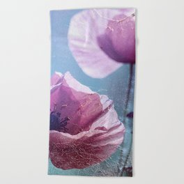 Poppy Spinning Beach Towel
