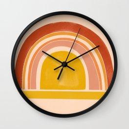 autumn sunshine 1 Wall Clock