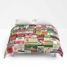 Antique Matchbooks Comforters