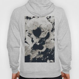 High Contrast Black and White Snowballs Hoody