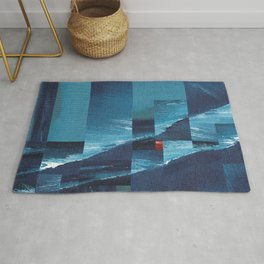 Cracking Waves (Distant Shore) Rug