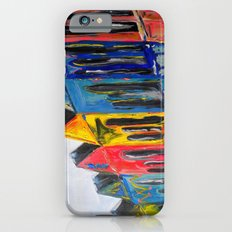 Rainbow Row iPhone 6s Slim Case