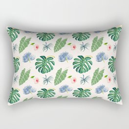 Tropical Blue Rectangular Pillow