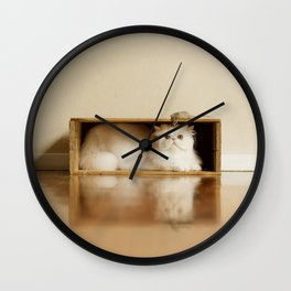 Mouse Sidekick Wall Clock
