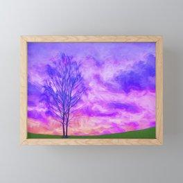 OMINOUS Framed Mini Art Print