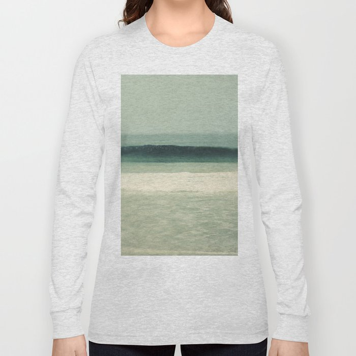 Teal Sea Long Sleeve T-shirt