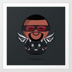 ChibizPop: Falcon Art Print