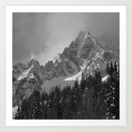 MONT BLANC COUNTRY Art Print