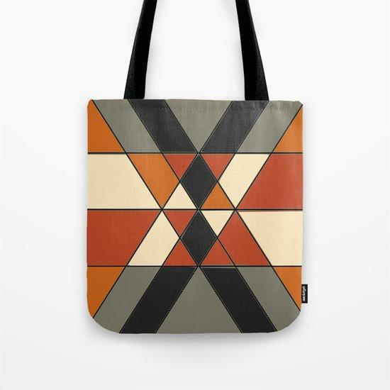 Tribal Geometry #1 Tote Bag
