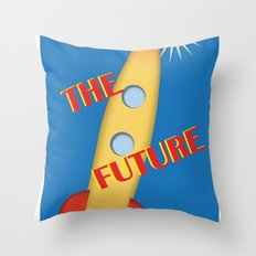The Future Throw Pillow