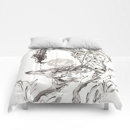 Wolf Ink Comforters