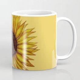 Sunflower by Lars Furtwaengler | Ink Pen | 2011 Coffee Mug