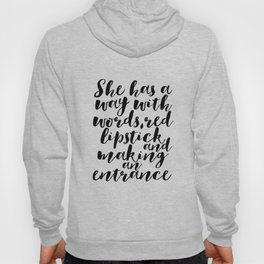 Makeup Quotes Makeup Decor Quotes Fashion Decor Gift For Her Women Gift Fashionista Boss Lady Office Hoody