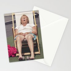 catching flies... Stationery Cards