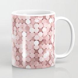 Rose gold glitter Coffee Mug